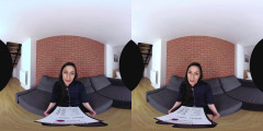 Slim girl in VR Casting   Download from Files Monster