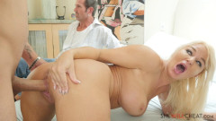 London River - Busty blonde fucks right in front of cuckold husband (2020)   Download from Files Monster