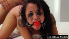 BrutalCasting - Holly Hendrix - Tiny Teen Terror | Download from Files Monster