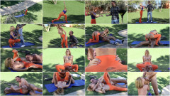 Park Worker Meets With A Blonde Hottie | Download from Files Monster