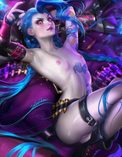 Jinx (League of Legends) assembly | Download from Files Monster