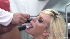Blondie Fesser at Doctor Nick's office | Download from Files Monster