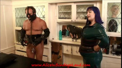 Chastity Urethral Sounding and Anal Humiliation Rubber Threesome | Download from Files Monster