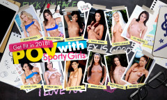 Get Fit in 2018! POV with Sporty Girls 21Roles LifeSelector | Download from Files Monster