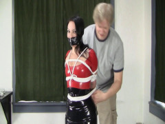 Michelle - Latexed Columned Hottie
