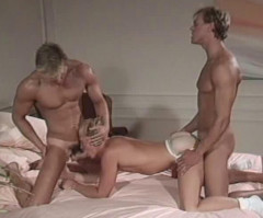 Blonde musclestuds in anal collection