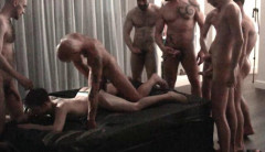 Sexy European Studs In Rough Gangbang