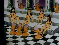 Chess game with penises