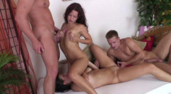 Bisexual 4somes part 8