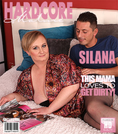 Silana  - big breasted BBW fucking and sucking FullHD 1080p