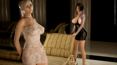 GirlFriends4ever Affect3D Animation With Girl And Transsexual With Insane Sex Positions