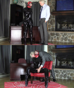 Tight bondage, domination and torment for sexy slave girl
