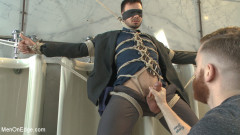 Ripped Stud Blackmailed into an Edging