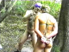 Bondage and slave training seem to bring out the best this blond hunk has to offer