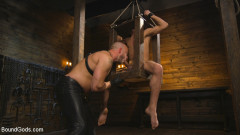 New house slave offers himself to the sexual desires of Master Colter