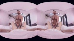 VirtualRealGay VR180 - My Bricklayer (Martin Mazza; Josh Milk POV)