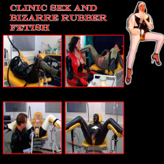 Clinic Sex and bizarre rubber fetish 16