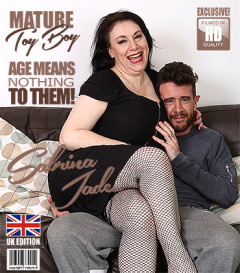 Sabrina Jade - British big breasted housewife doing her toyboy FullHD 1080p