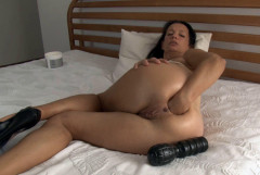 Angelina in the scene Anal Self Fisting