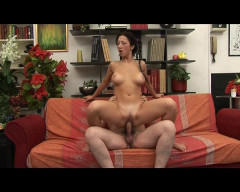 Young babe gets laid
