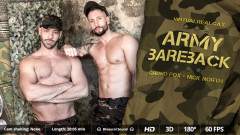 Virtual Real Gay - Army Bareback
