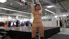 Cable tie session in Public | Download from Files Monster