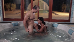 Hot babe Isabella Chrystin fucking in the Jacuzzi-1080p | Download from Files Monster
