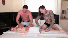 Bi 3-Way: Kinky Fuck Massage & Facial | Download from Files Monster