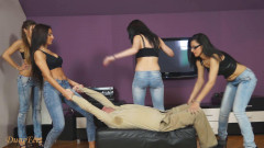 Emily, Gia, Kourtney and Teodora - Girls in jeans - Part 2 - HD 720p   Download from Files Monster