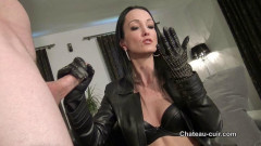Leather handjob deluxe | Download from Files Monster
