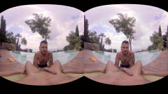 VirtualRealGay VR180 - Sea Views (Mario Domenech; Antonio Miracle POV) | Download from Files Monster