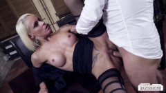 Sophie Logan - Blonde German Milf rides boss and gets cum on pussy (2017) | Download from Files Monster