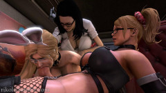 Orgy in the library | Download from Files Monster