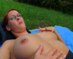 Self pussy teasing outdoors   Download from Files Monster