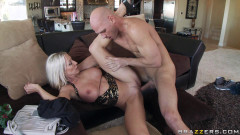 Seductive Blonde Lady Has To Plan His Party | Download from Files Monster