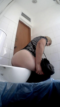 Hidden camera in the female toilet of the clinic Part 229 (2018) | Download from Files Monster