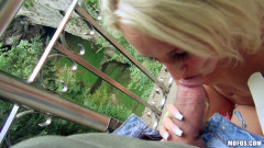 Her Hot Outdoor Sex and Sweet Creampie | Download from Files Monster