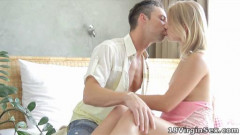 Sveta and her sexy man meet and he goes to lick and suck on her breasts | Download from Files Monster