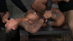 winner Bonnie Rotten shackled in strict device bondage | Download from Files Monster