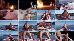 A Hot Sex On The Yacht In The Pristine Lake | Download from Files Monster