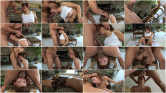 Mouth fucking action with hot brunette | Download from Files Monster