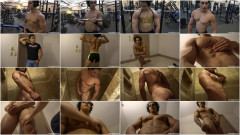 Pumpingmuscle -  Brandon F Photo Shoot Part 3 | Download from Files Monster