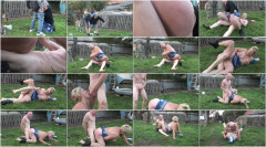 Fat granny fucked in the backyard | Download from Files Monster