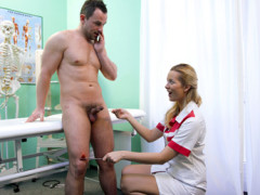 Nurse seduces computer technician | Download from Files Monster