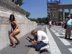 Angelina Crow Public sex in Budapest | Download from Files Monster