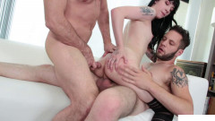 Cute Riley & Bi Boyfriend's Threesome | Download from Files Monster