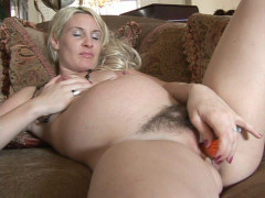 Pregnant blonde masturbates in dreams | Download from Files Monster