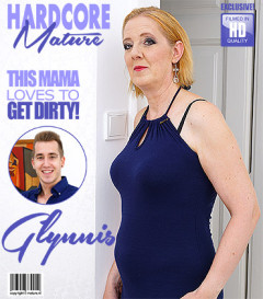 Glynis - Horny housewife Glynis doing her toyboy FullHD 1080p | Download from Files Monster