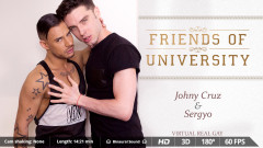 VirtualrealGay - Friends of University - 1920low | Download from Files Monster