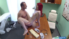 Anne Swix - Cute Redhead Rides Doctor for Cash - May 20, 2016 | Download from Files Monster